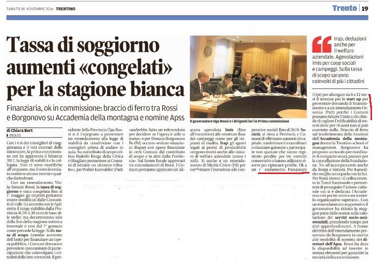 Trento Archivi - Gruppo consiliare Unione per il Trentino